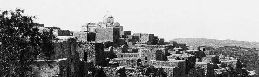Les mastiha villages